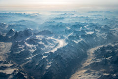 Горы Тибета Стоковое Фото