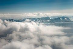 Горы Тибета Стоковое фото RF