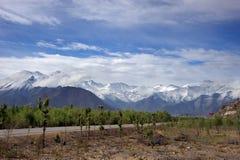 горы Тибет Гималаев Стоковое Изображение RF