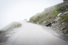 горы тумана мистические Стоковая Фотография RF