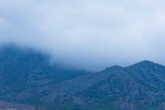 горы тумана сверх Стоковые Изображения RF