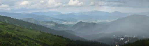 горы украинские Стоковое Изображение RF