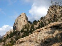 горы утесистые Стоковые Изображения