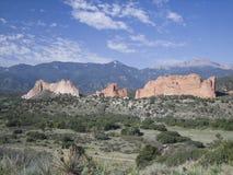 горы утесистые Стоковые Изображения RF