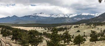 горы утесистые Стоковая Фотография