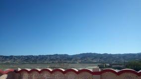 Горы утра зим солнечные Стоковые Изображения RF