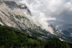 горы утра Стоковые Изображения