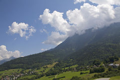 горы Франции Стоковая Фотография