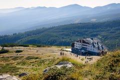 горы хаты Стоковые Фотографии RF