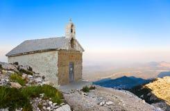 горы Хорватии церков старые стоковое фото