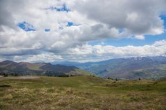 Горы центрального Apennines Стоковая Фотография RF