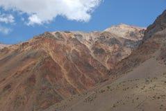 горы Чили стоковые фото