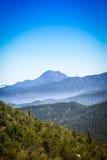 Горы Чили стоковая фотография