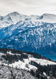 Горы Швейцария стоковое фото