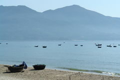 горы шлюпок залива Стоковое фото RF