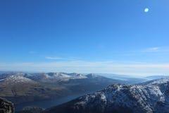 Горы Шотландия Стоковая Фотография