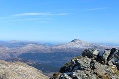 Горы Шотландия Стоковые Изображения
