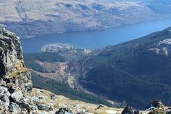 Горы Шотландия Стоковые Изображения RF
