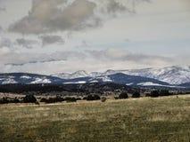 Горы южного Колорадо влажные Стоковое Изображение RF