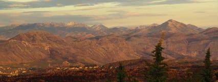 Горы 03 Дубровник Стоковые Фото