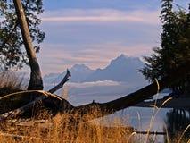 горы 1 утра, котор нужно осмотреть Стоковое Изображение