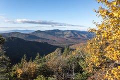 Горы Adirondack в осени Стоковое Изображение RF