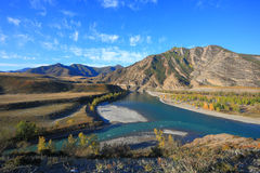 Горы Altai Стоковое Изображение
