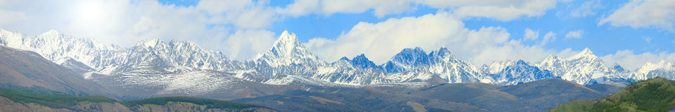 Горы Altai Стоковое Изображение RF