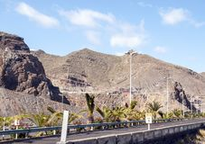 Горы Anaga стоковое изображение rf