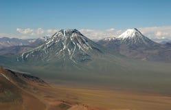 горы andes Чили Стоковое Фото