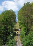 Горы ardenne coo-приключения Plopsa стоковые фото
