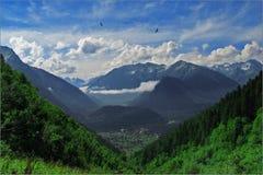 горы arhyz Стоковое Фото