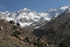 Горы Atlass, Марокко, Африка Стоковая Фотография