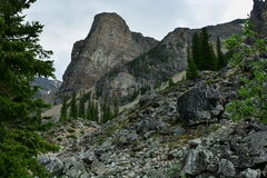 Горы Banff Альберты, Канады Стоковая Фотография RF