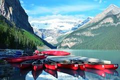 Горы Banff Альберты, Канады Lake Louise Альберта Стоковая Фотография RF