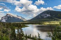 горы banff Стоковое фото RF