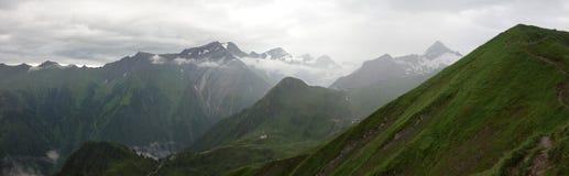 Горы Beautyful, Kitzsteinhorn стоковые фотографии rf