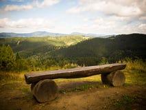 Горы Beskid Стоковое Изображение RF