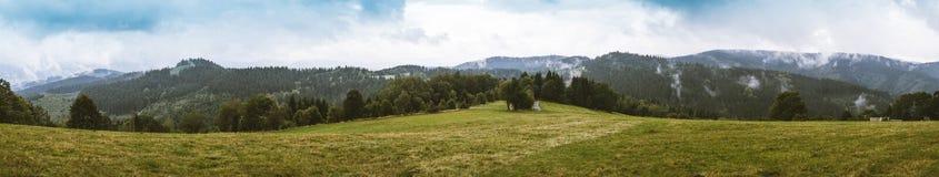 Горы Beskid Стоковое Изображение