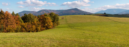 Горы Beskydy, Моравия, чехия стоковые фотографии rf