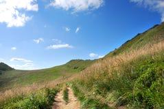 Горы Bieszczady, Polonina Wetlinska Стоковое Фото