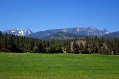 Горы Bitterroot около Darby, Монтаны стоковое фото