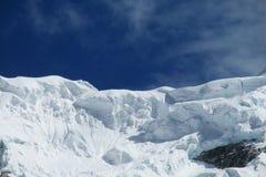 Горы Blanca кордильер Стоковые Изображения