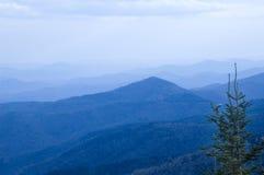 горы blueridge Стоковое Изображение