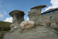 Горы Bucegi Стоковые Изображения