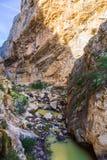 Горы Caminito Del Rey Стоковая Фотография