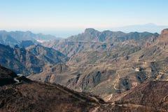 Горы canarias Gran стоковые фотографии rf