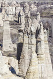 Горы Capadocia Стоковое Изображение RF