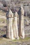 Горы Capadocia Стоковые Фотографии RF