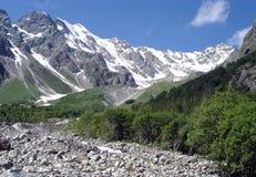 горы caucasus Стоковое Фото